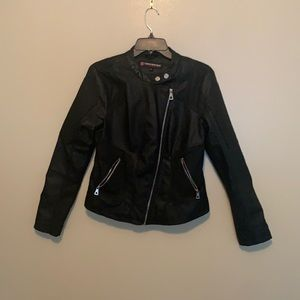 Marshall's faux leather jacket